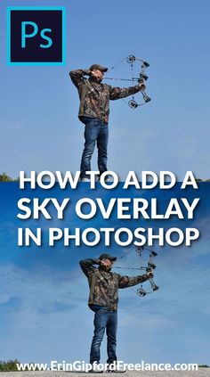 Download FREE sky overlays!Add a dramatic look and feel to any photography buy easily adding a sky overlay. It's four simple steps but the results are amazing. #photoshop #skyoverlays #photoshoptutorial #howtoaddskyinphotoshop