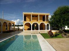 Hotel Hacienda Izamal en Yucatán. aldeamaya@hotmail.com