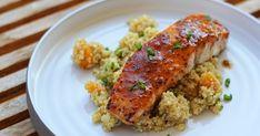 Δείτε τώρα τη συνταγή για Σολομό με Βερίκοκα και Κινόα και εντυπωσιάστε τους όλους. Δοκιμασμένη συνταγή με όλα τα βήματα αναλυτικά!