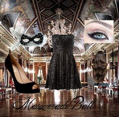 """""""Masquerade Ball"""" by earr on Polyvore"""