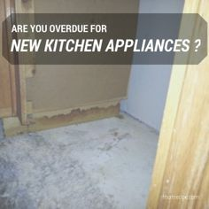 Are you overdue for new appliances? ·That Recipe - Old appliances are not only inefficient they can be a fire or flood hazard! Some tips for buying new ones and how to handle an insurance claim/kitchen reconstruction.
