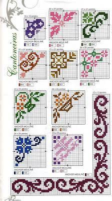 Imagini pentru santos bordados em ponto cruz