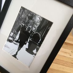 """""""Just framed the photo I took of my mum walking down Broadway, New York City last year September... Sweet memories I'm so blessed to be able to share these…"""""""