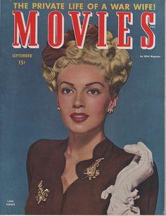 Lana Turner on the September 1944 Movies