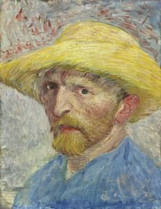 "Did you know ""Self Portrait"" was the first Vincent Van Gogh painting acquired by a U.S. museum? (Photo: the DIA)"