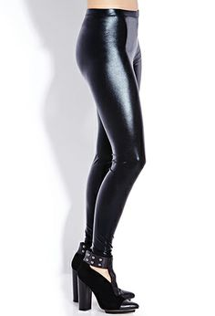 Daring Liquid Leggings | FOREVER21 - 2000128609