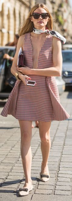Olivia Palermo outside Parisian Hotel, Paris Fashion Week 6th July 2015