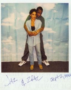 Jazmine Guy & Tupac Polaroid!!!21 years ago today The Real Jasmine Guy visited 2pac in jail at Clinton Correctional Facility.  Outlawz fam--> 2pac lives in my heart