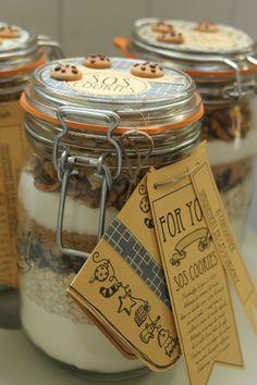 Pot SOS Cookies Etiquettes à télécharger