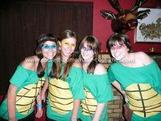 Coolest Teenage Mutant Ninja Turtles Group Costume 29