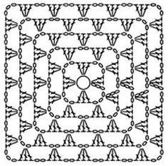 Crochet Poncho, Crochet Granny, Crochet Patterns, Knitting, Crocheting, Google, Inspiration, Image, Crochet Symbols