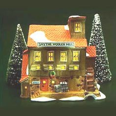 """Department 56: Products - """"Smythe Woolen Mill"""""""
