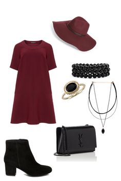 """Untitled #143"" by chandlertolliver ❤ liked on Polyvore featuring Manon Baptiste, Halogen, Bling Jewelry, Blue Nile, Steve Madden and Yves Saint Laurent"