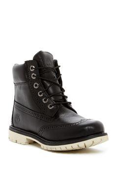 outlet store 8322b 253d3 Premium Brogue Wingtip Boot Timberland Premium, Brogues, Nordstrom Rack,  Hiking Boots, High