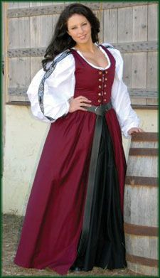 Irish Renaissance Dress Renaissance Clothing and Medieval Costumes by Elizabethan Outfitters  sc 1 st  Pinterest & 185 best Renaissance Costumes images on Pinterest | Renaissance ...