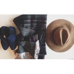 The necessities to look your best this winter: Seychelles booties  Plaid blanket scarves Floppy wool hats   Only on the Fashiontruck   #shopthetruck