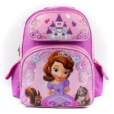 Backpack - Disney - Sofia the First - Little Princess (Large School Bag) by Disney, http://www.amazon.com/dp/B00CSAE9IE/ref=cm_sw_r_pi_dp_D1b5rb10VP26P