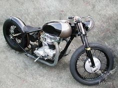 Ian Barry motorcycle (pre- Falcon Motorcycles) by Falcon Motorcycles, via Flickr