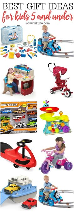 The BEST Gift Ideas for Kids 5 and under - great ideas for Christmas or even birthdays, and all are on Amazon!
