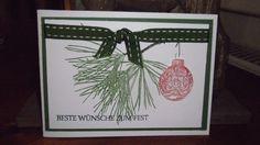 Weihnachtskarte Stampin up