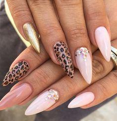 Nails, Acrylic. Upliked by TinyyTMhee