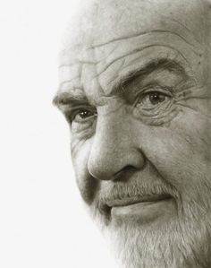 Pencil Portraits of Celebrities - Sean Connery