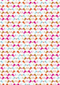 this is a sampler of some new patterns i'm working on - this is part of a set I have made onto fabric! i love the colour scheme