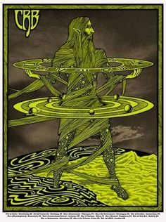 CRB tour poster by Alan Forbes.