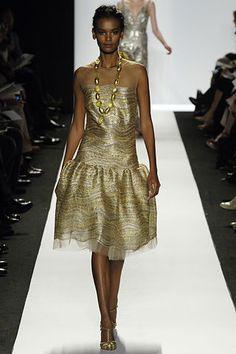 Oscar de la Renta Fall 2006 Ready-to-Wear Fashion Show - Natasha Poly