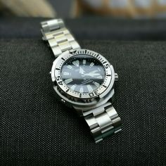 seiko baby tuna SRP 637 with oyster bracelet