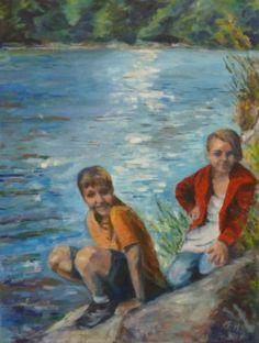 Summerdays Nr. 3 Oil On Canvas, Saatchi Art, Original Paintings, The Originals, Pictures