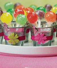 Cute with a retro feel, mini metal pails filled with lollies make fun wedding favours or party treats. These pails are only 95p at Craftmill. High in quality, cheap in price | All your Sweet Tree and DIY Craft supplies and inspiration from The Specialists - www.craftmill.co.uk