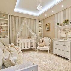 Quarto mais lindoooo!! #dedign #decor #decoração #quartodebebe #babyroom #onteriordesign #homedecor