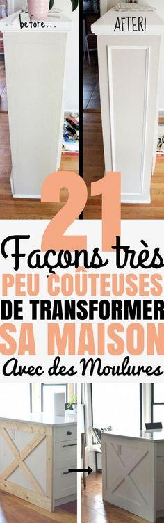 21 Façons de transformer sa maison avec des moulures (avec un p'tit budget)