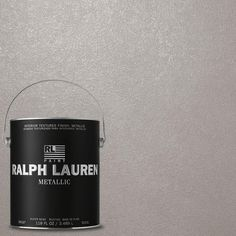 Ralph Lauren 1-gal. Silver Plated Silver Metallic Specialty Finish Interior Paint-ME106 - The Home Depot
