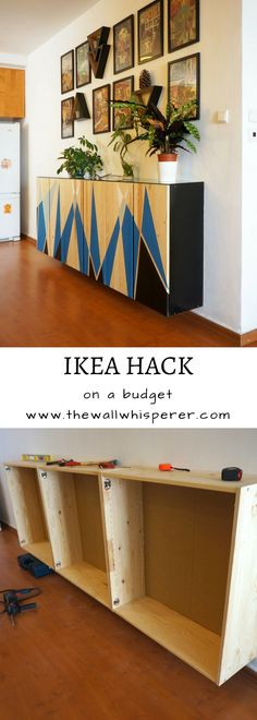 A fantastic makeover idea for the Ivar cabinet, IKEA hack, paint cabinet, furniture makeover. #ikeahack #diyhomestyle