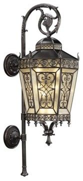 Conservatory No. 424881 Wall Sconce - traditional - outdoor lighting - Lumens