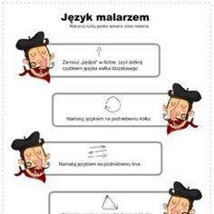 Kolorowanki, ćwiczenia, karty do wydrukowania. - Printoteka.pl Speech Language Therapy