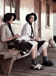 Жизнь и стиль амишей в моде: фото. Часть 3. / Life and style of Amish people in fashion: photos. Part 3.