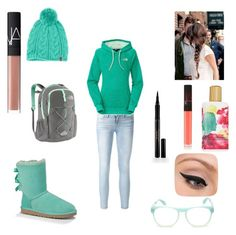 """A north face winter"" by swiftie1318 on Polyvore"