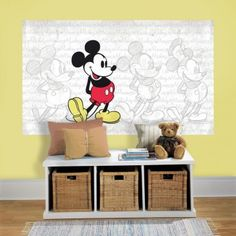 Disney Mickey Mouse Peel and Stick Wall Mural