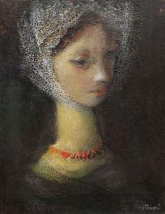Jiřincová Dívka s krajkou A Girl with a Lace
