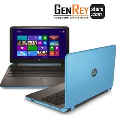 "New Arrival !! HP Pavilion 15-P227AX, Blue Ocean  AMD QuadCore A10 5745M-2.1Ghz Turbo 2.9Ghz / RAM 4GB / HDD 1TB / VGA AMD RADEON HD 8610G-3GB / Screen 15.6"" Full HD / Dos  Pesan Sekarang Disini -> http://www.genreystore.com/jual-hp-pavilion-p227ax-blue-ocean"