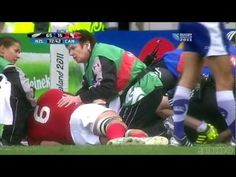 Biggest hits of the 2011 Rugby World Cup.