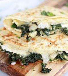 Spinach & Artichoke Crepes!