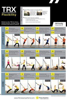 Flexibilidad con TRX