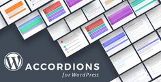 WordPress Content Accordions Plugin with Layout Builder . The best Content Accordions bundle for WordPress. Choose from more than +20 different customisable Content Accordion layouts we created just for your needs. This pack is truly awesome and unique in its design and