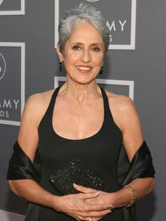 Joan Baez...her LOOK today, just as stunning!  Saw her also at Calvin College about 10 years ago!