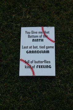 Baseball Sign.  Baseball Decor.  Baseball by ScaleAndTailor