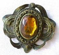 Vintage jewlery... Golden Topaz...